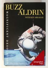 Magnificent Desolation Autographed by Buzz Aldrin