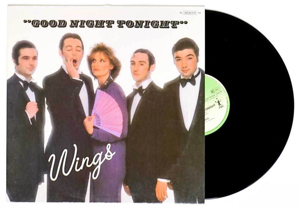 Paul McCartney (8) Record LP's [Wings]