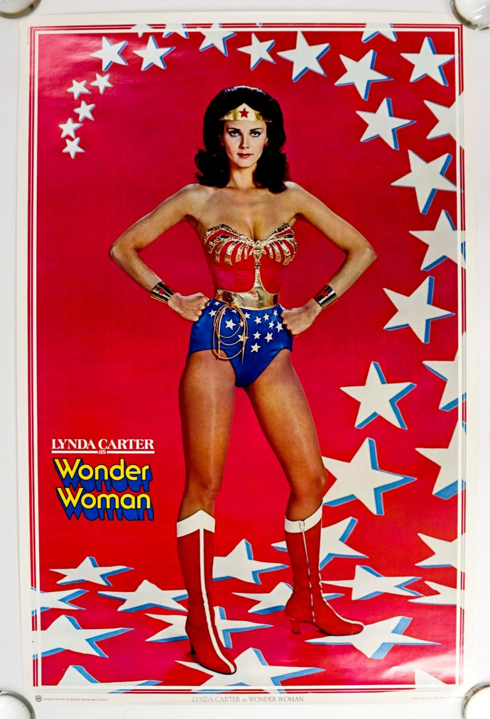 1977 Lynda Carter as Wonder Woman Poster