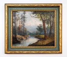 William Parrott (1843-1915) Framed Oil Painting