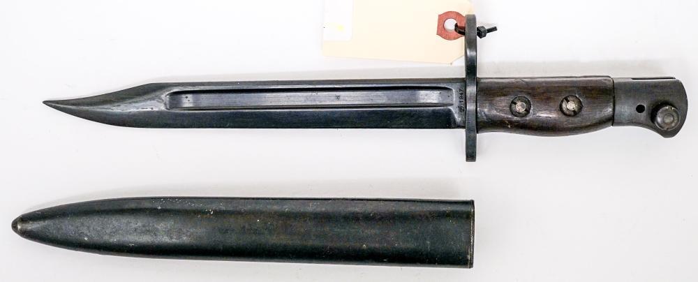 1947 Enfield Bayonet & Scabbard