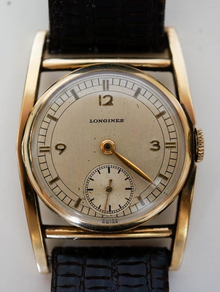 longines 10k gold filled mainliner wrist