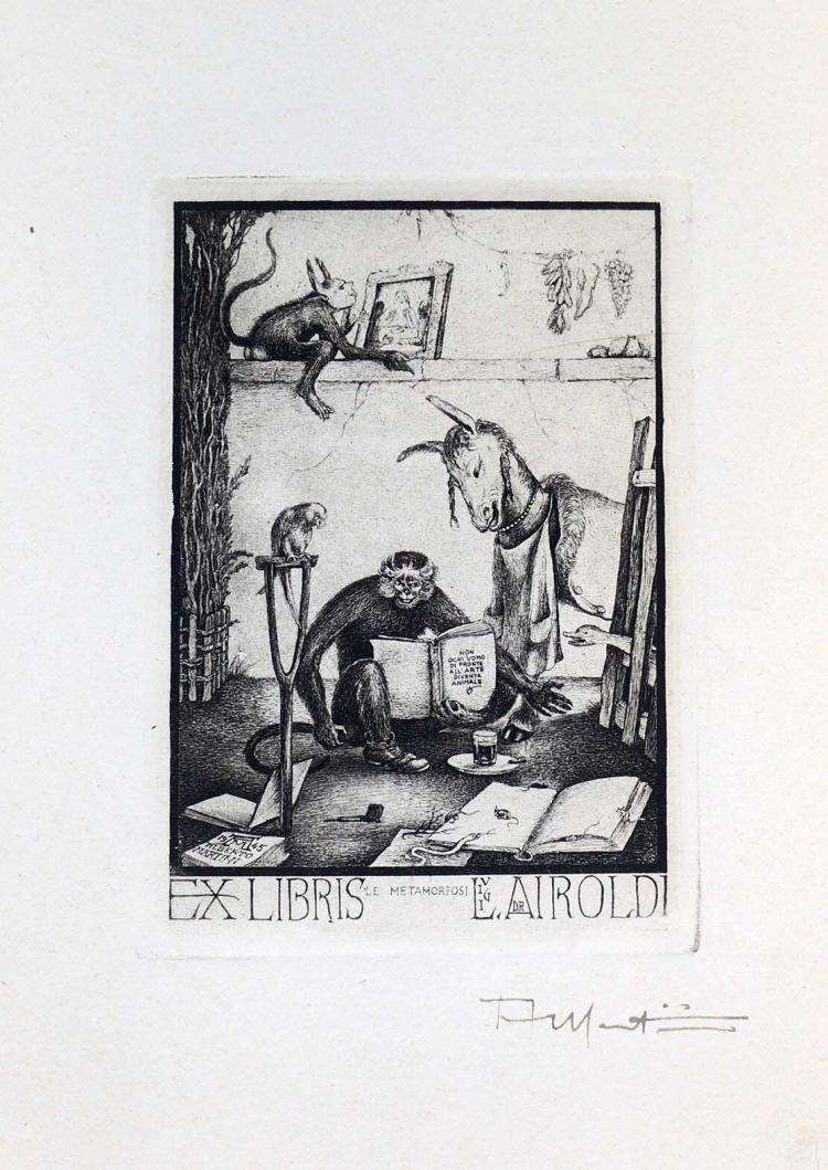 Alberto Martini (1876-1954) Signed Etching