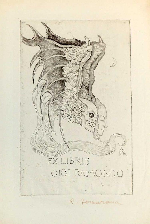 Raoul Dal Molin-Ferenzono (1879-1946) Etching