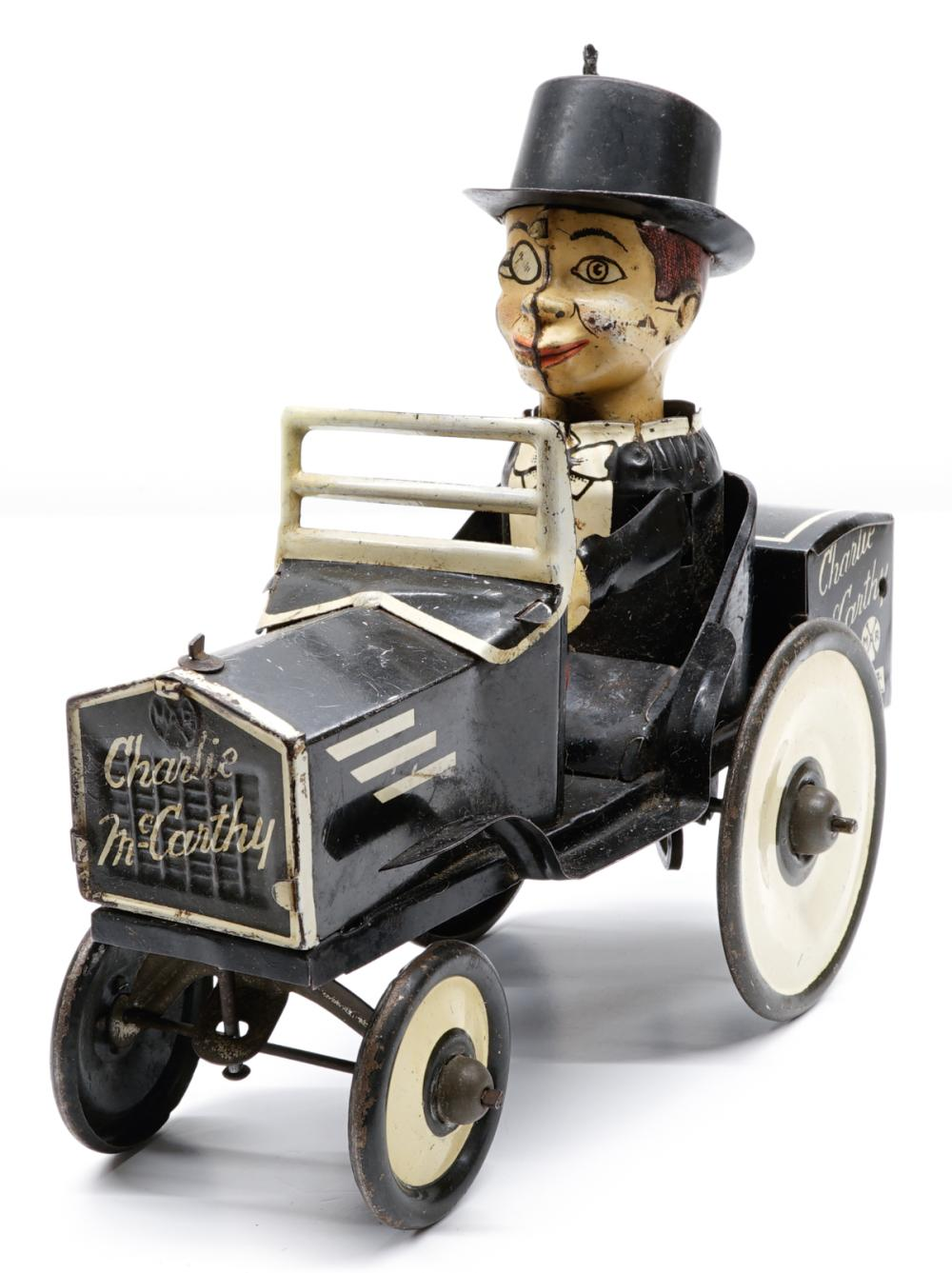 Lot 1: Marx Charlie McCarthy Wind-Up Toy