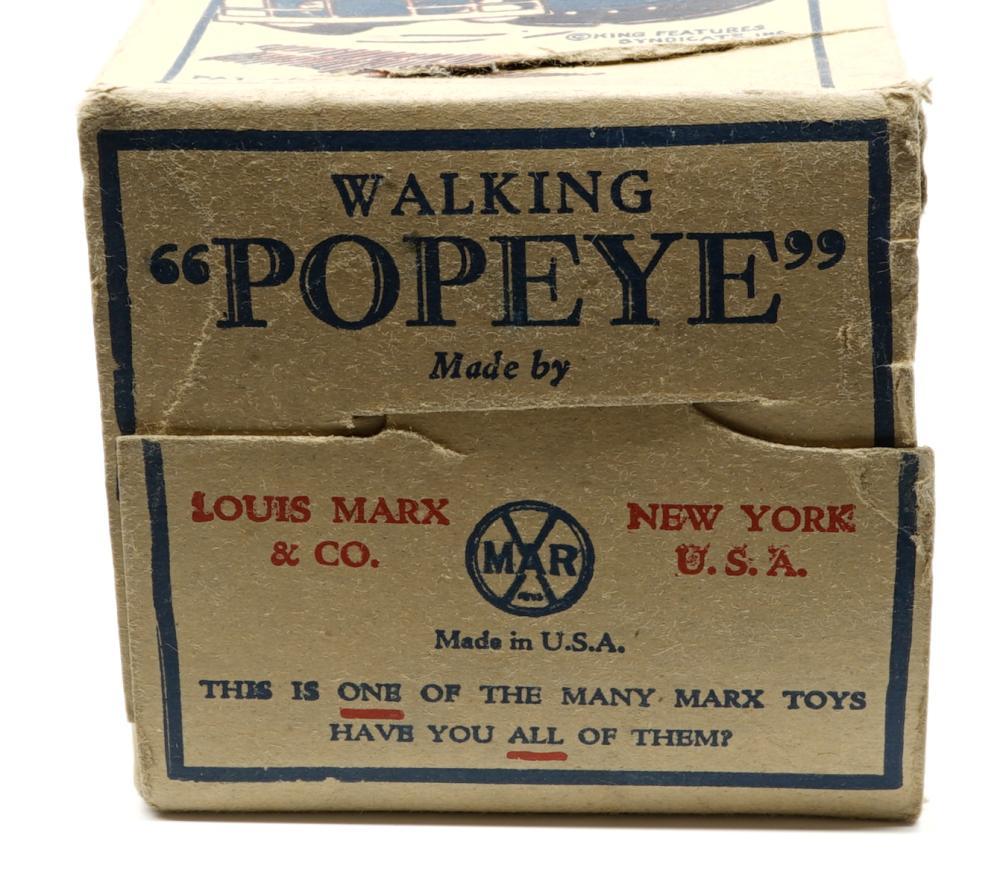 Lot 4: Marx Walking Popeye Box Only