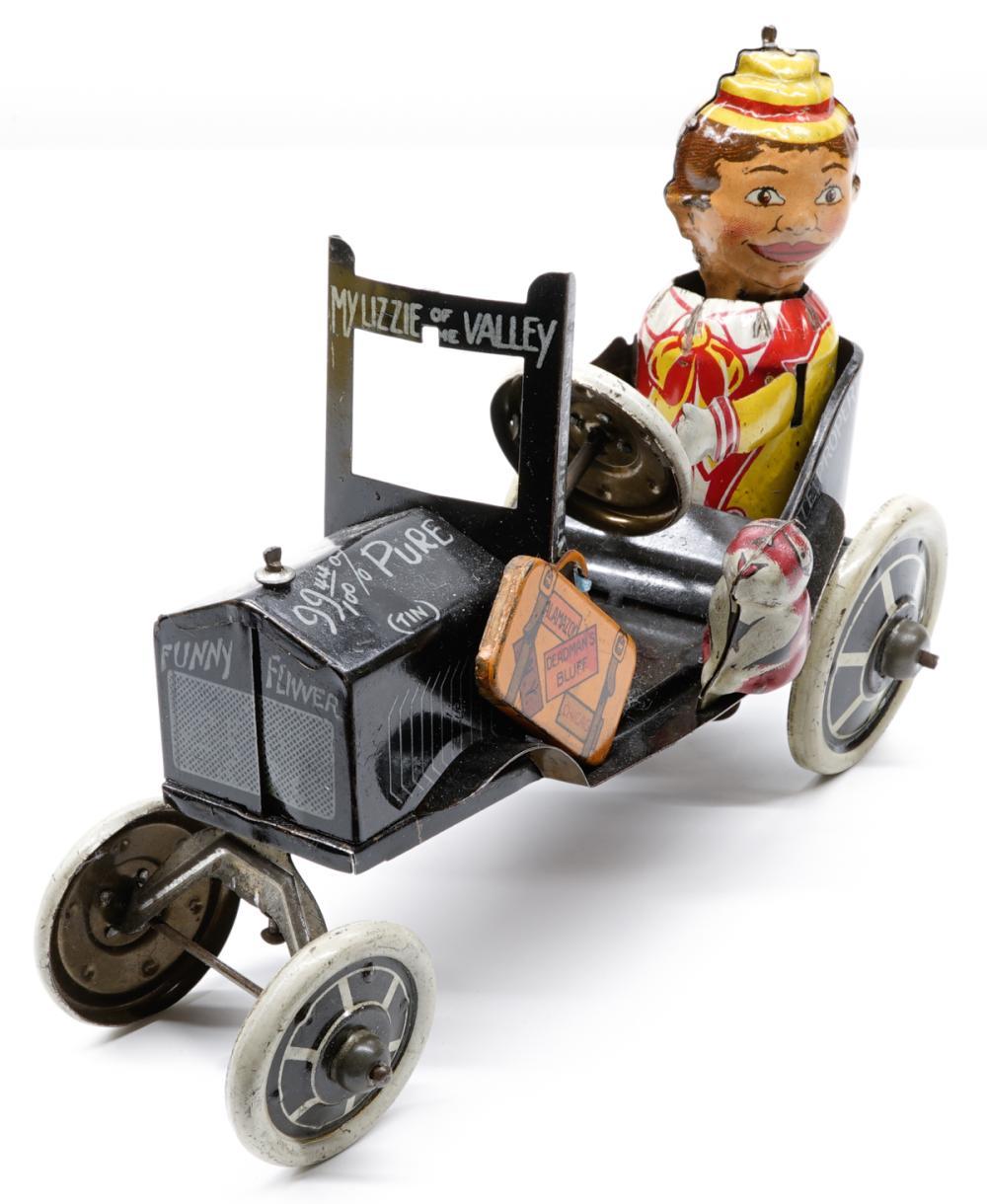 Marx Funny Fliver 4 Wheels No Breaks