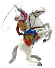 Lot 13: Marx Lone Ranger Wind-Up Toy