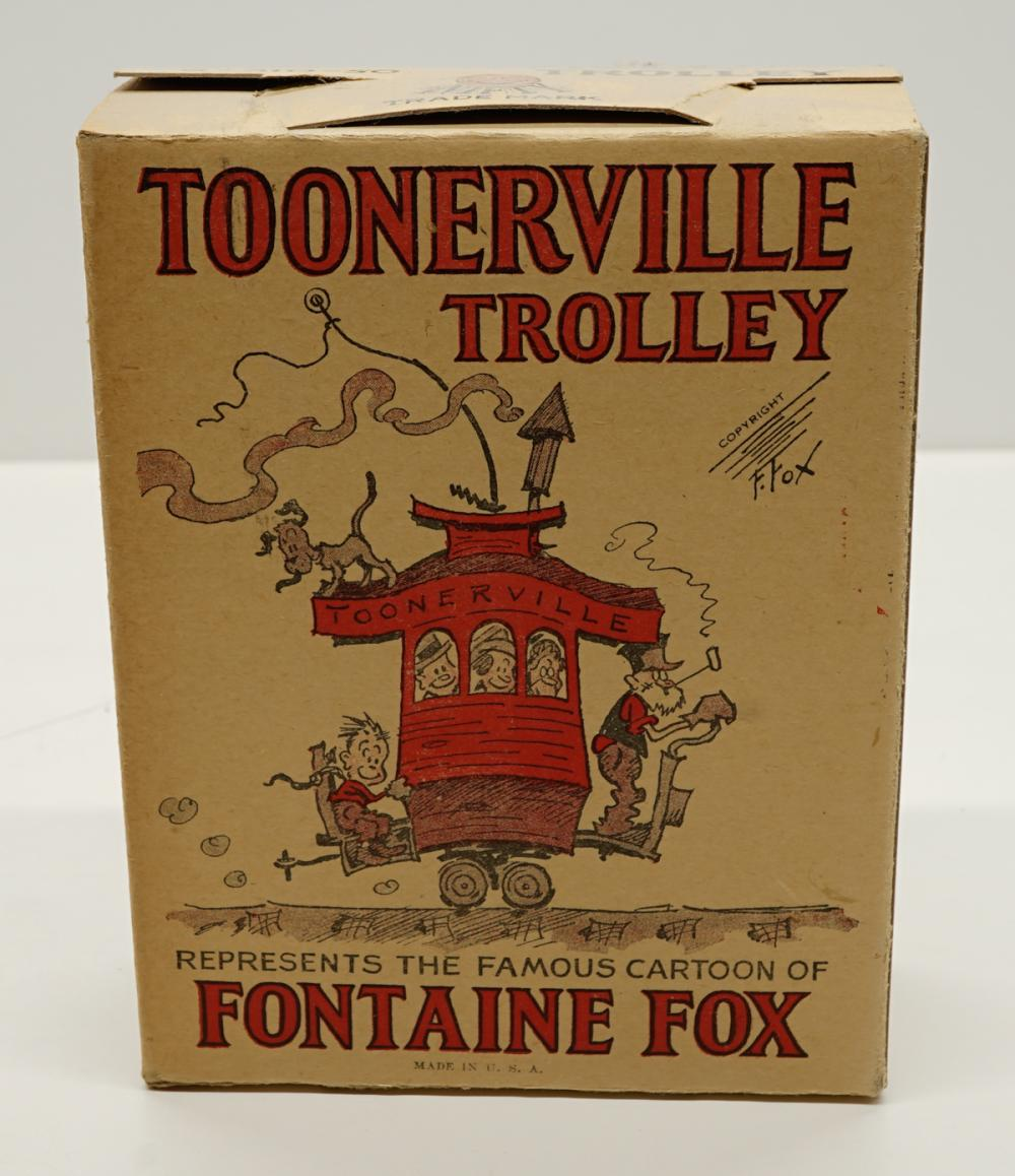 Lot 15: Toonerville Trolley Box Only