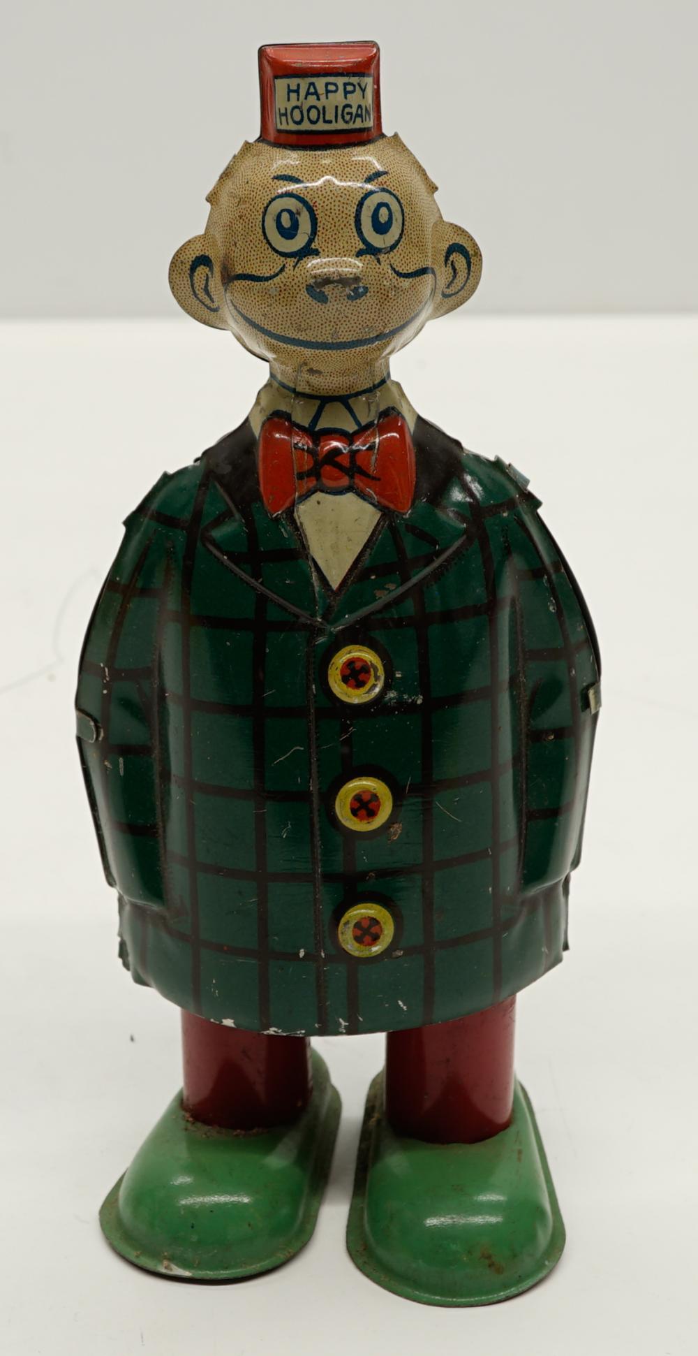 Chein Happy Hooligan Tin Wind-Up Toy
