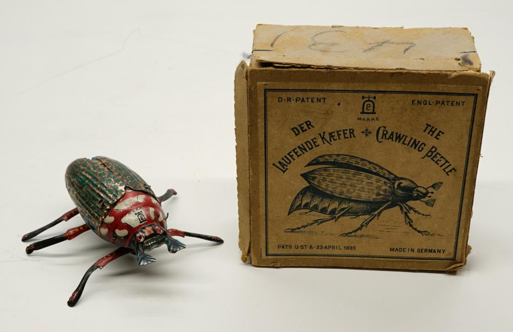 Lehmann Crawling Beetle with Box