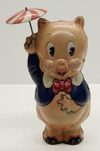 Lot 28: Marx Porky Pig Wind-Up Toy