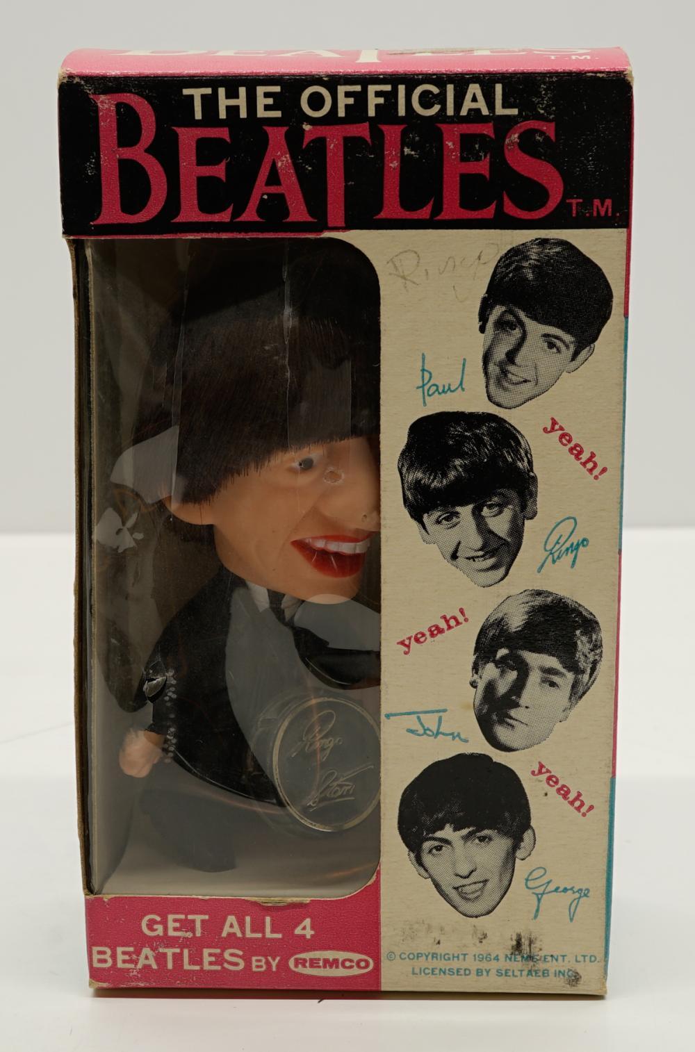 Ringo Starr Remco Figure in Original Box