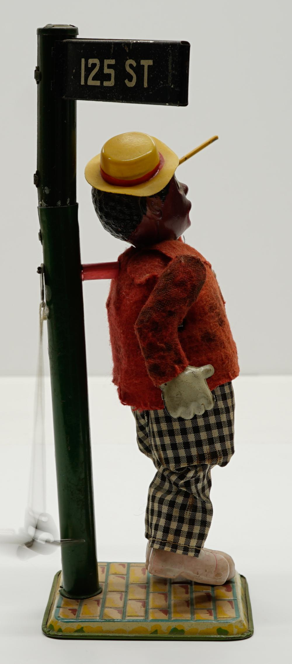Lot 31: Black Americana Occupied Japan Wind-up Toy