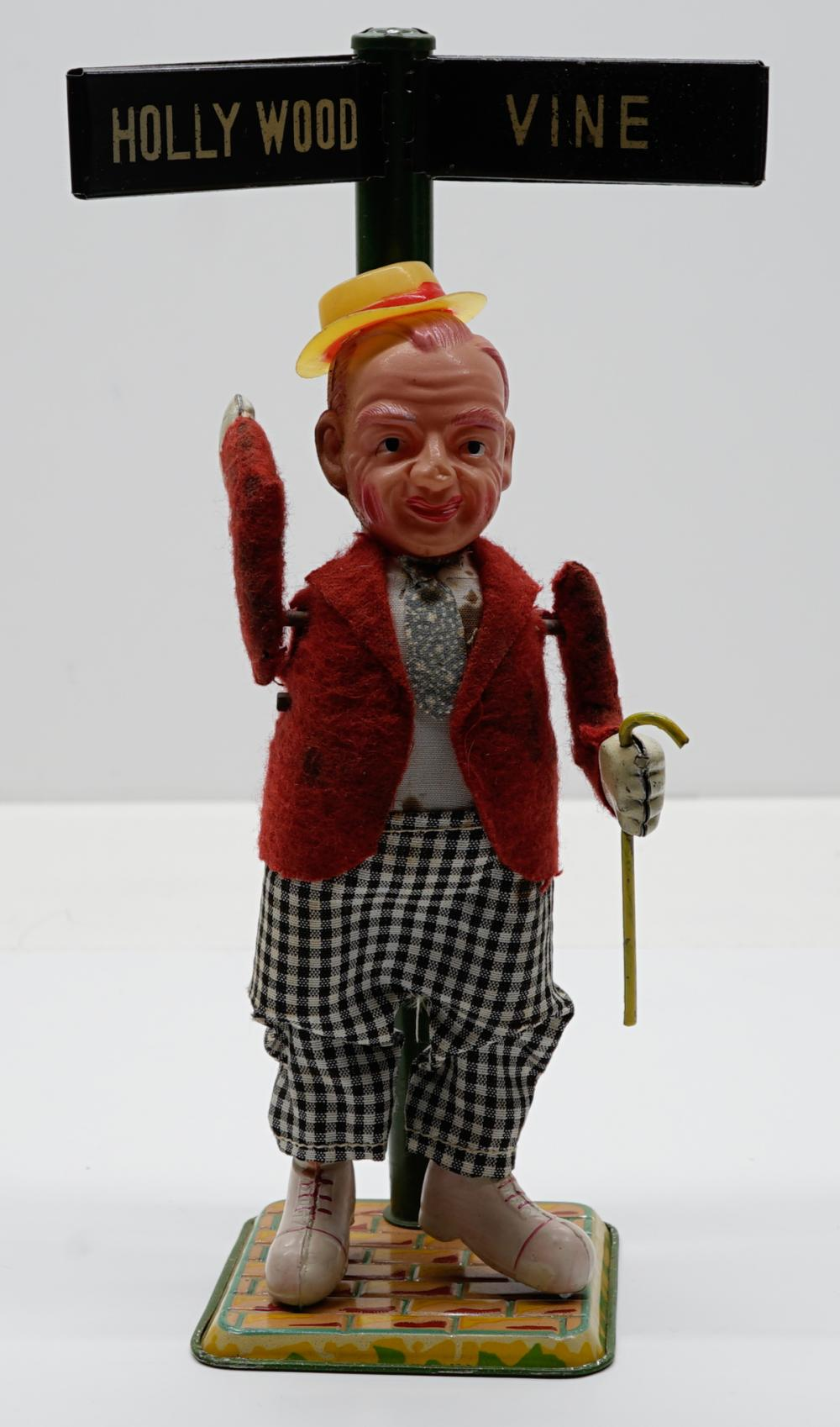 Occupied Japan Fred Astaire Wind-Up Toy