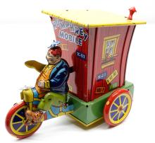 Lot 39: Wyandotte Humphrey Mobile Tin Wind-Up Toy
