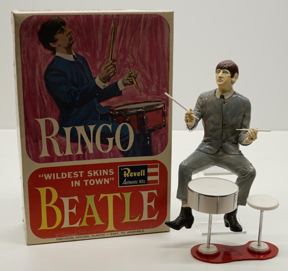 Ringo Starr Assembled Revell Model Kit with Box