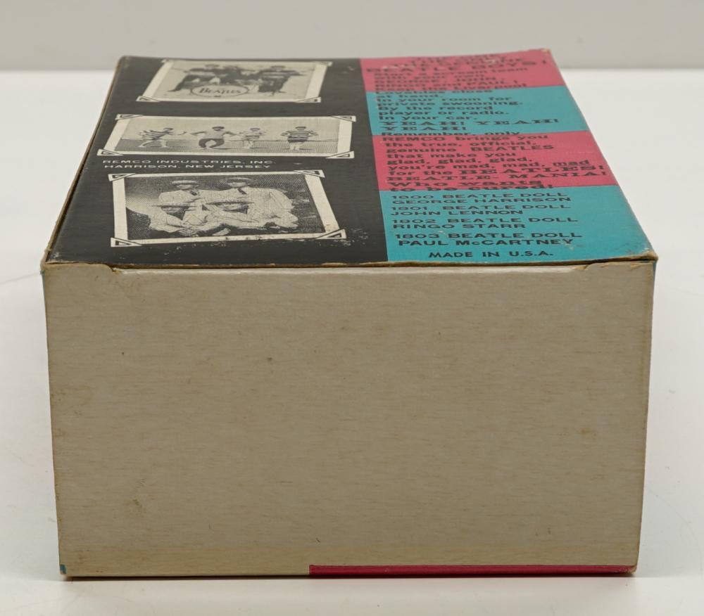 Lot 33: Ringo Starr Remco Figure in Original Box