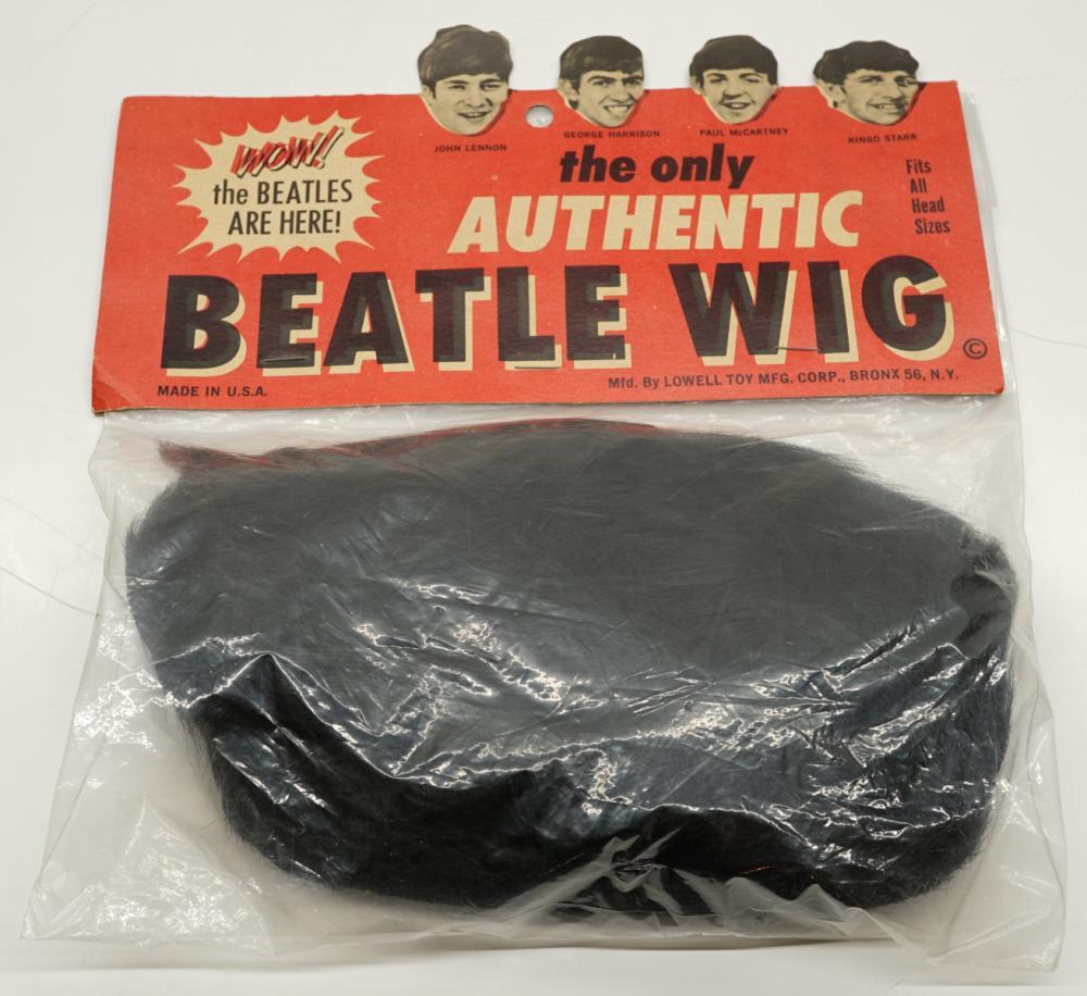 Lot 38: Beatles Wig Mint in Package MIP