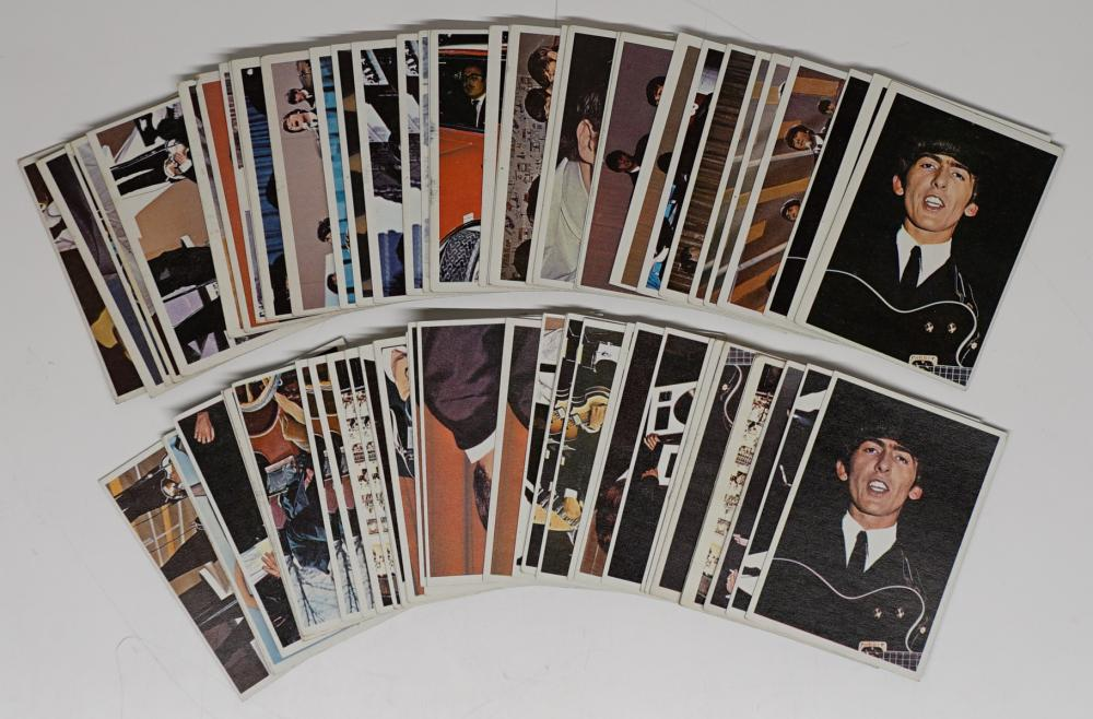Lot 40B: Beatles Diary Trading Cards (72)