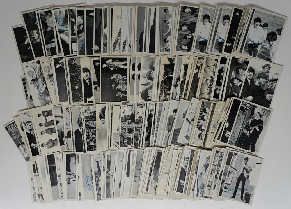 Lot 40G: Beatles Trading Cards (369)