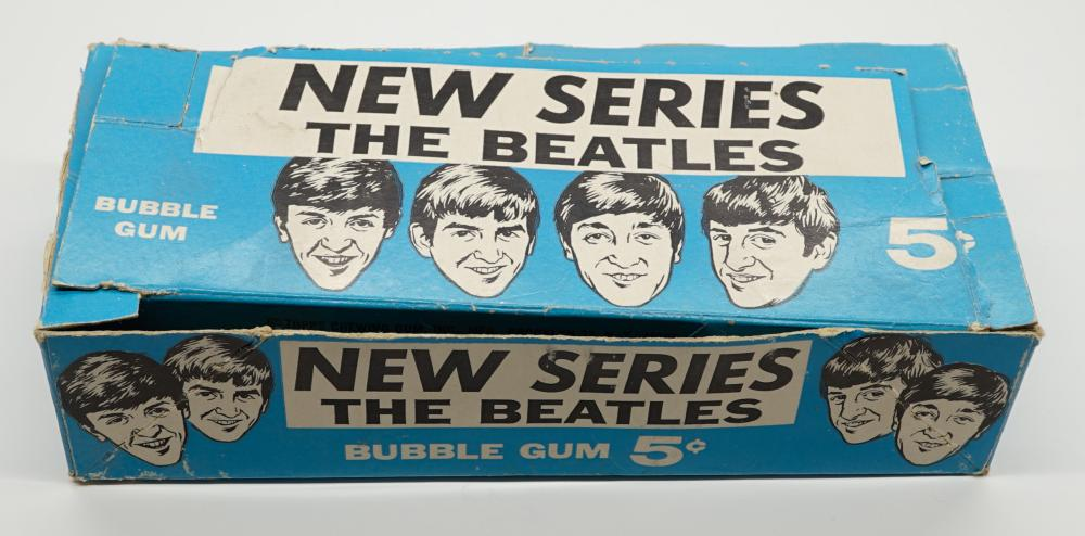 The Beatles New Series Wax Pack Box Only