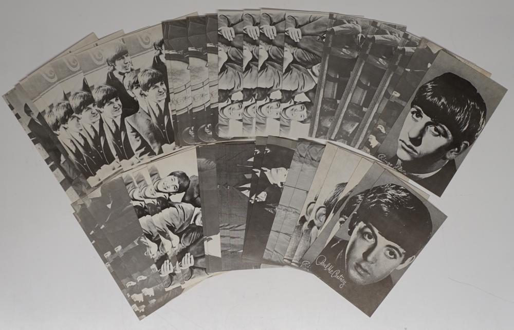Beatles Arcade Exhibit Cards EX/EX+ (43)