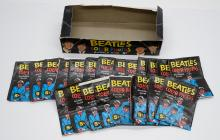 Lot 40: Beatles Topps Color Photos Wax Box and Wrappers