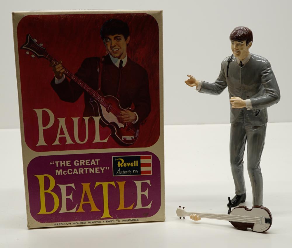 Paul McCartney Revell Assembled Model Kit with Box