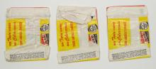 Lot 42: Beatles Wax Pack Wrappers Only (23)