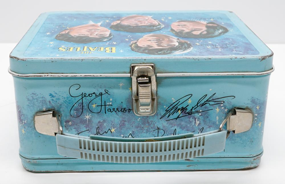 Lot 46: Beatles Lunch Box