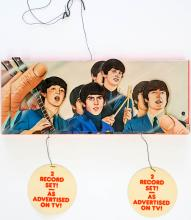 Lot 49B: The Beatles Record Store Display Promo Mobile