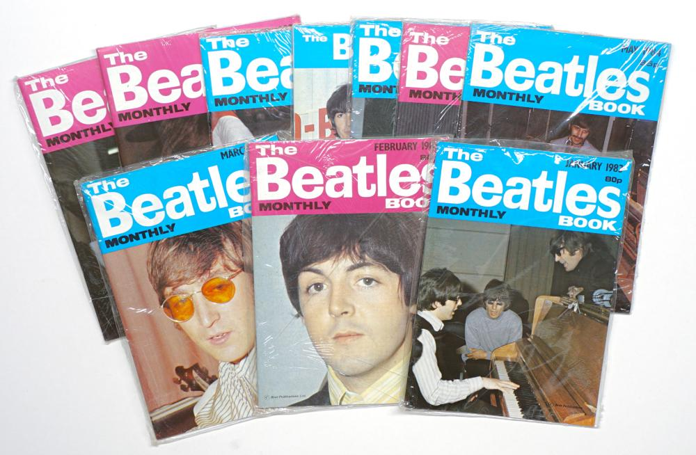 The Beatles Monthly Book Small Magazines (10)