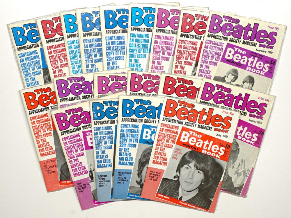 The Beatles Magazine Books 18 of 19 Sealed (19)