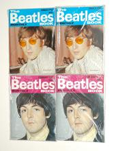 Lot 52: The Beatles Monthly Book Small Magazines (8)