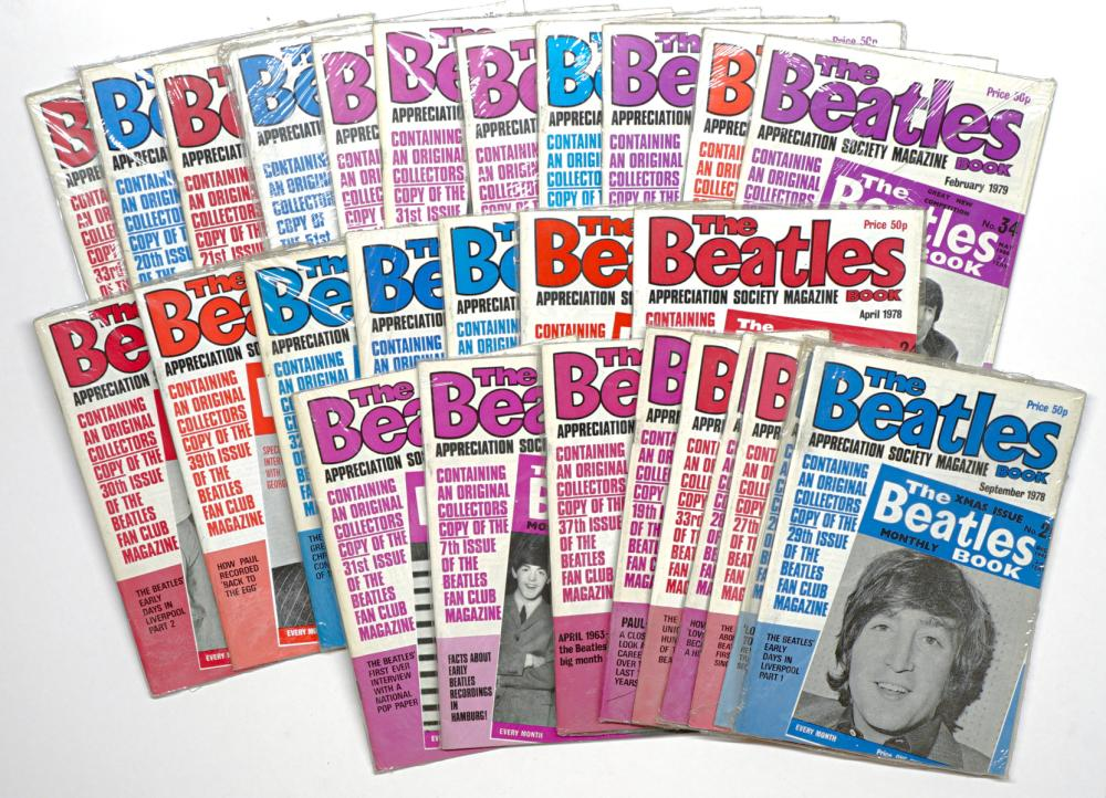 The Beatles Magazine Books SEALED (27)