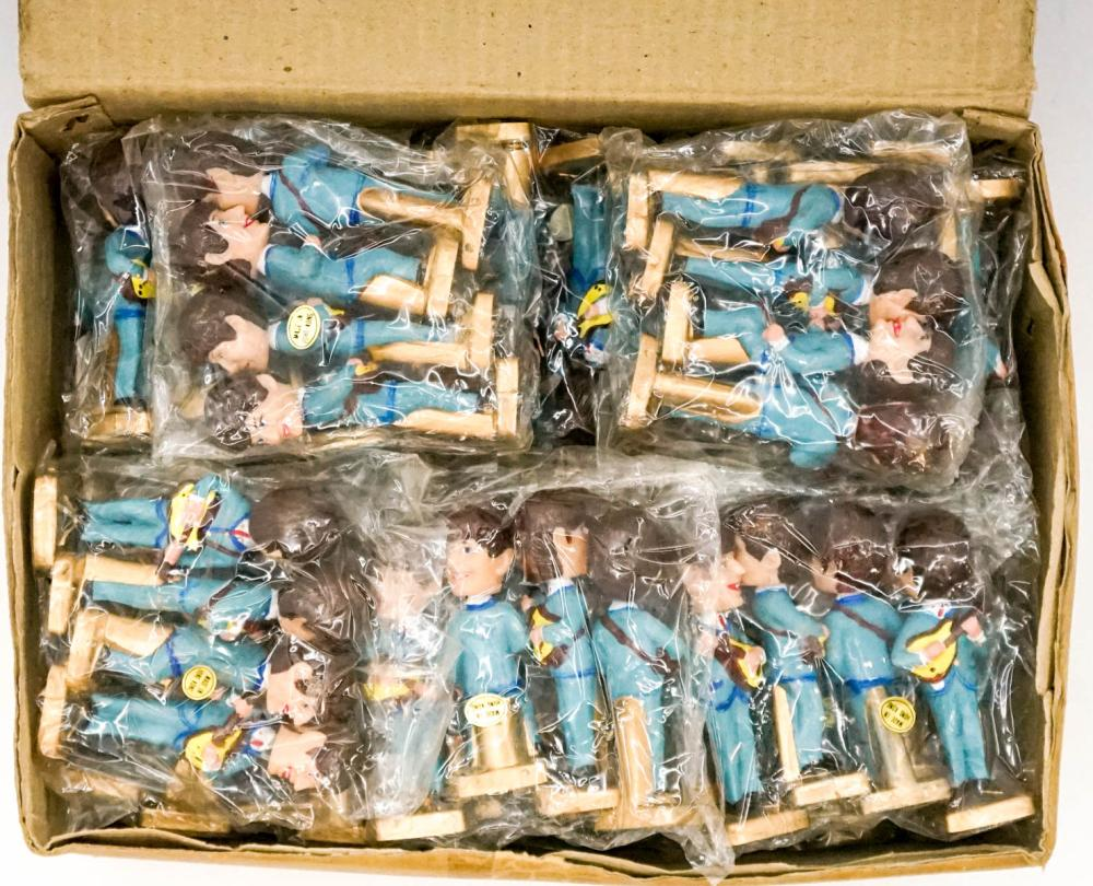 Lot 124: The Beatles Cake Toppers Sealed Sets (23)