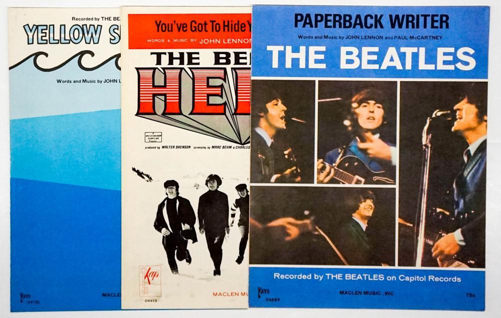 The Beatles 1965-1966 Sheet Music (3)