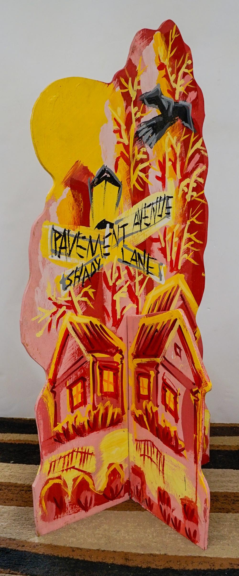 Pavement, Shady Lane Record Store Display