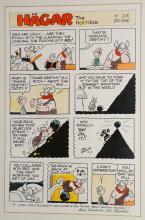 Lot 132: Hagar The Horrible Sunday June 11, 1978 Art