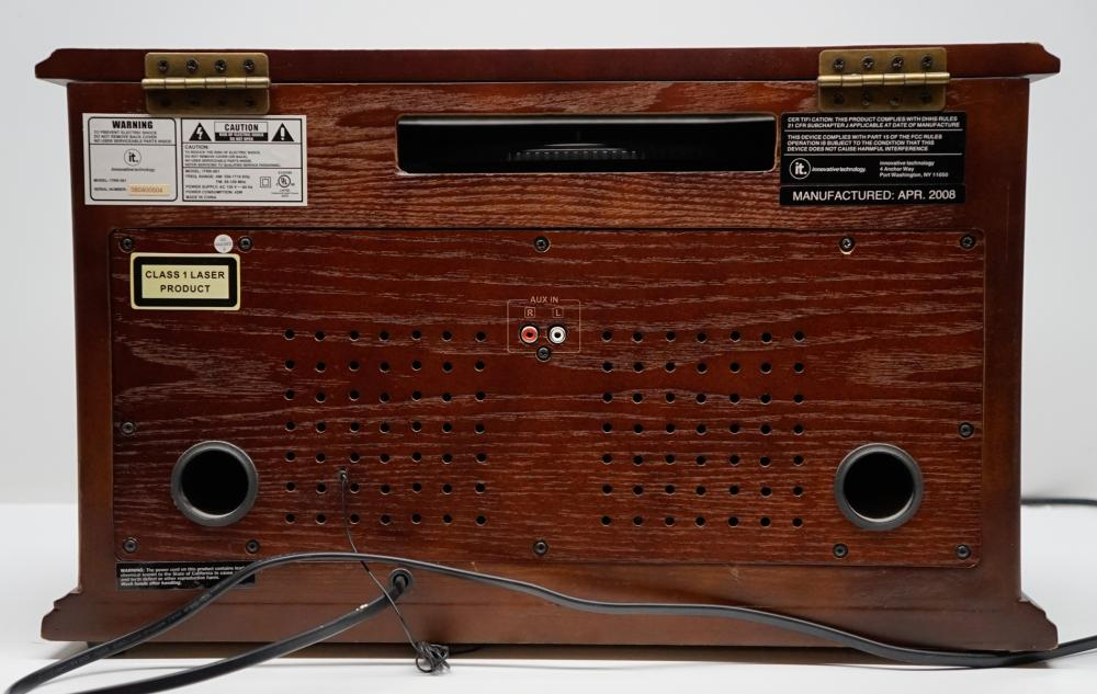 Lot 133: Music Center with Recordable CD Player