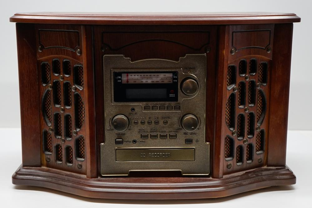 Music Center with Recordable CD Player