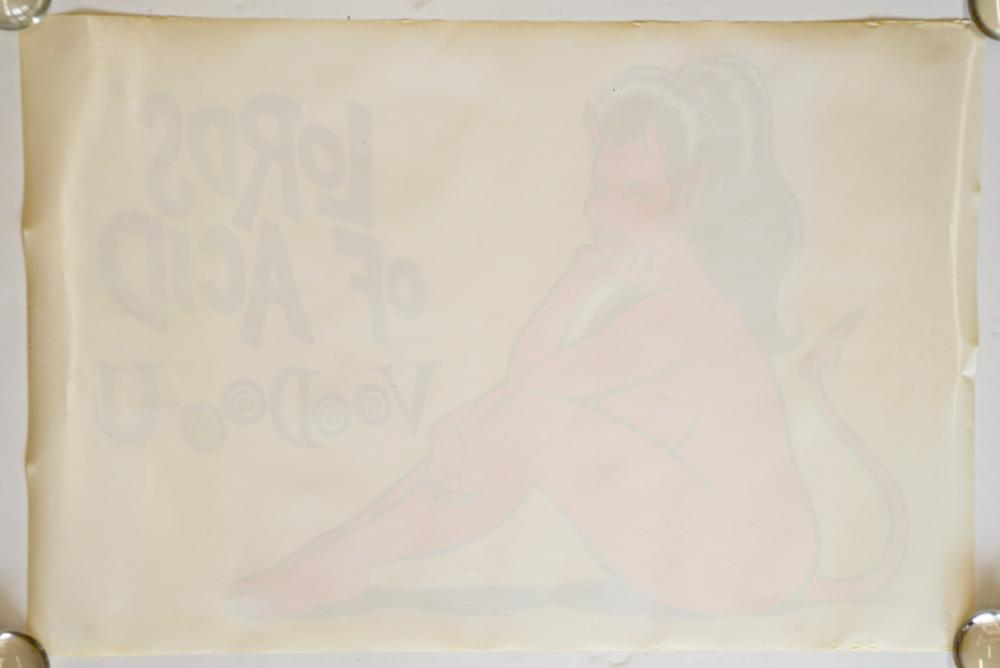 Lot 134F: Lords of Acid True Promo Poster