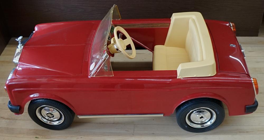 Sharna Rolls Royce Corniche Electric Car