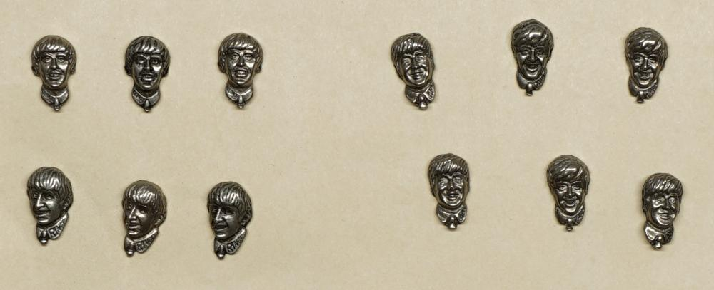The Beatles Lapel Pins (12)