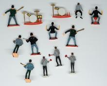 Lot 150: The Beatles Vintage Cake Toppers