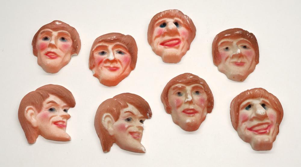 Lot 149: The Beatles Sugar Cookies (8)