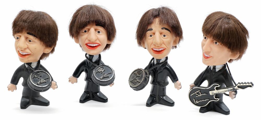 The Beatles Nems Figures Set of (4)