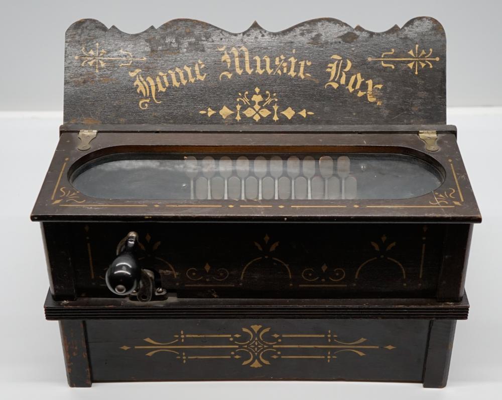 Lot 156A: Antique Home Music Box
