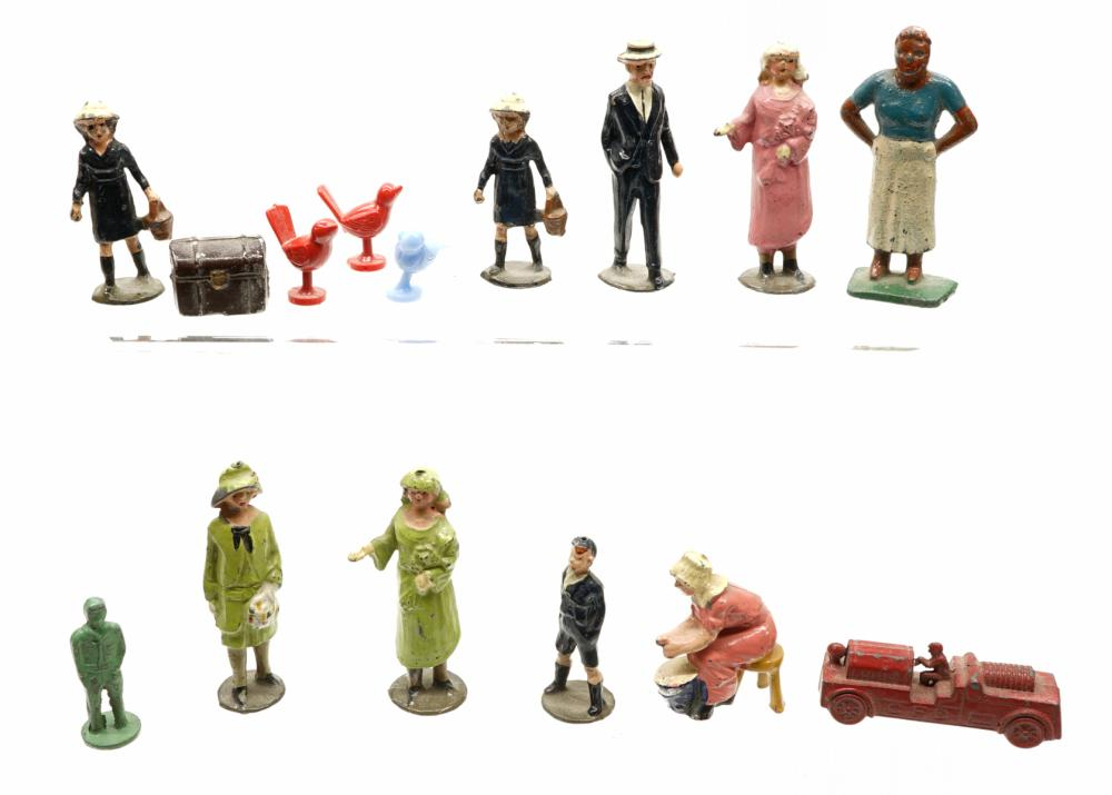 Miniature Lead Figures and more
